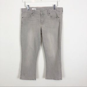 GAP Cropped Boot Cut Jeans